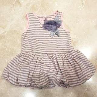 Dress Rok balon 1.5-2thn