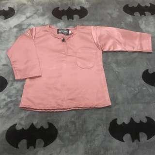 Baju Melayu Baby (Size: 6 month)