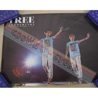 [CRAZY DEAL 90% OFF FROM ORIGINAL PRICE][READY STOCK]TOHOSHINKI TVXQ DBSK KOREA OFFICIAL POSTER!NEW! OFFICIAL ORIGINAL FROM KOREA  (PRICE NOT INCLUDE POSTAGE) SHIP USING TUBE