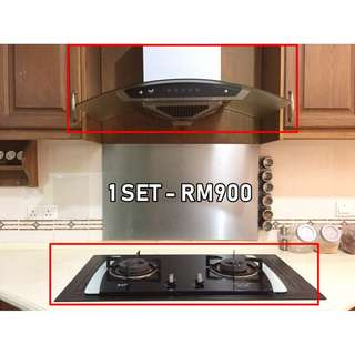 Cooker Hob and Cooker Hood