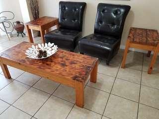 Rustic Coffee Table set