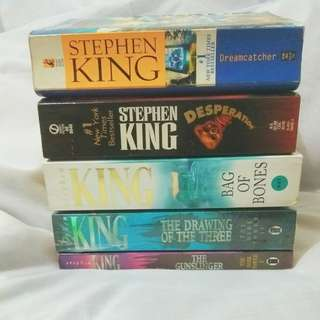 Stephen King's books for sell