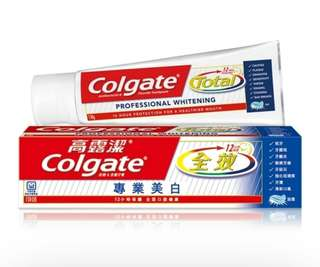 🚚 COLGATE 高露潔 全效美白牙膏 150g