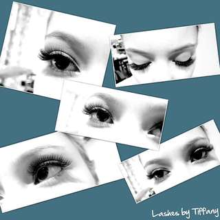 Eyelash extensions home studio