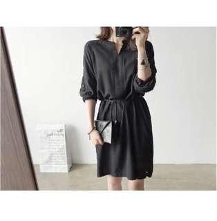 Black Shirt Dress Brand New