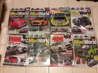 Lot no. 1 of 8 x MINI Magazines
