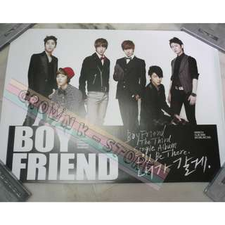 [CRAZY DEAL 90% OFF FROM ORIGINAL PRICE][READY STOCK]BOYFRIEND KOREA OFFICIAL POSTER!NEW! OFFICIAL ORIGINAL FROM KOREA  (PRICE NOT INCLUDE POSTAGE) SHIP USING TUBE