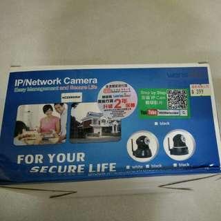 IP network camera Lan Wifi 網絡攝影機 有單 保至2019年8月26日 連掛牆配件
