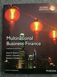 Multinational Business Finance 13th ed