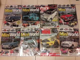 Lot no.2 of 8 x MINI Magazines