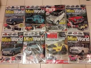 Lot no.2 of 8 x MINI Magazines