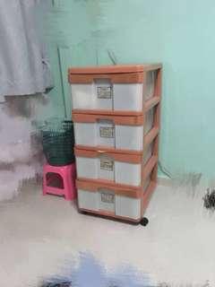 Toyogo Plastic Cabinet 4 tier