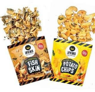 (現貨!)Irvins 魚皮/薯片