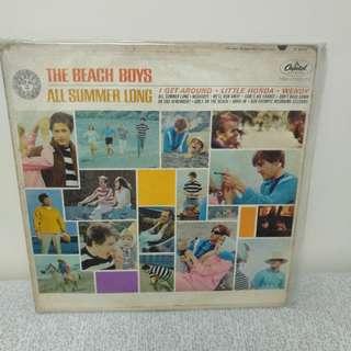 60年代 the beach Boys lp黑膠唱片