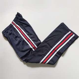 GRAY TRACK PANTS