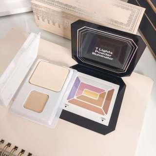 ⭐️ Shiseido deluxe sample bundle • Maquillage dramatic powder uv 10 • 7 lights powder illuminator • authentic makeup set
