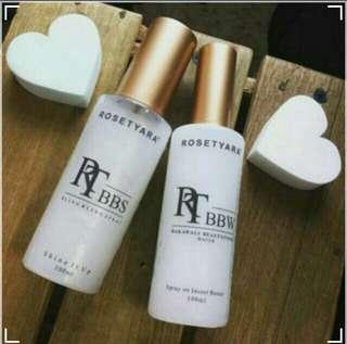 RoseTyara Bling Bling Spray N RoseTyara Bakawali Beautifying Water