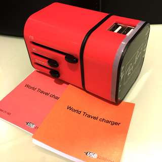 [New] Pink universal travel adapter 旅行轉換器