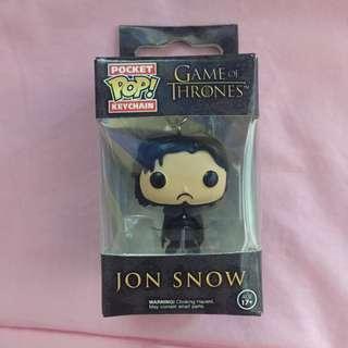 Jon Snow Funko Pocket Pop! Keychain