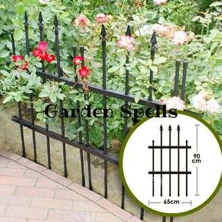 Pointy Garden Fence