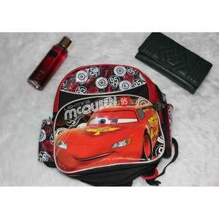 Disney Cars backpack for little boys