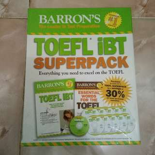 TOEFL iBT Superpack 13th Edition