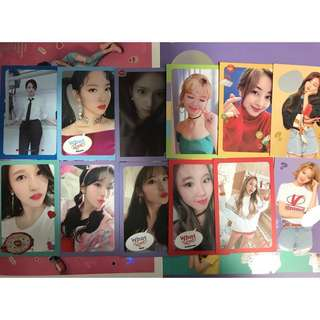 [WTT/WTS] TWICE WHAT IS LOVE? OFFICIAL PHOTOCARDS