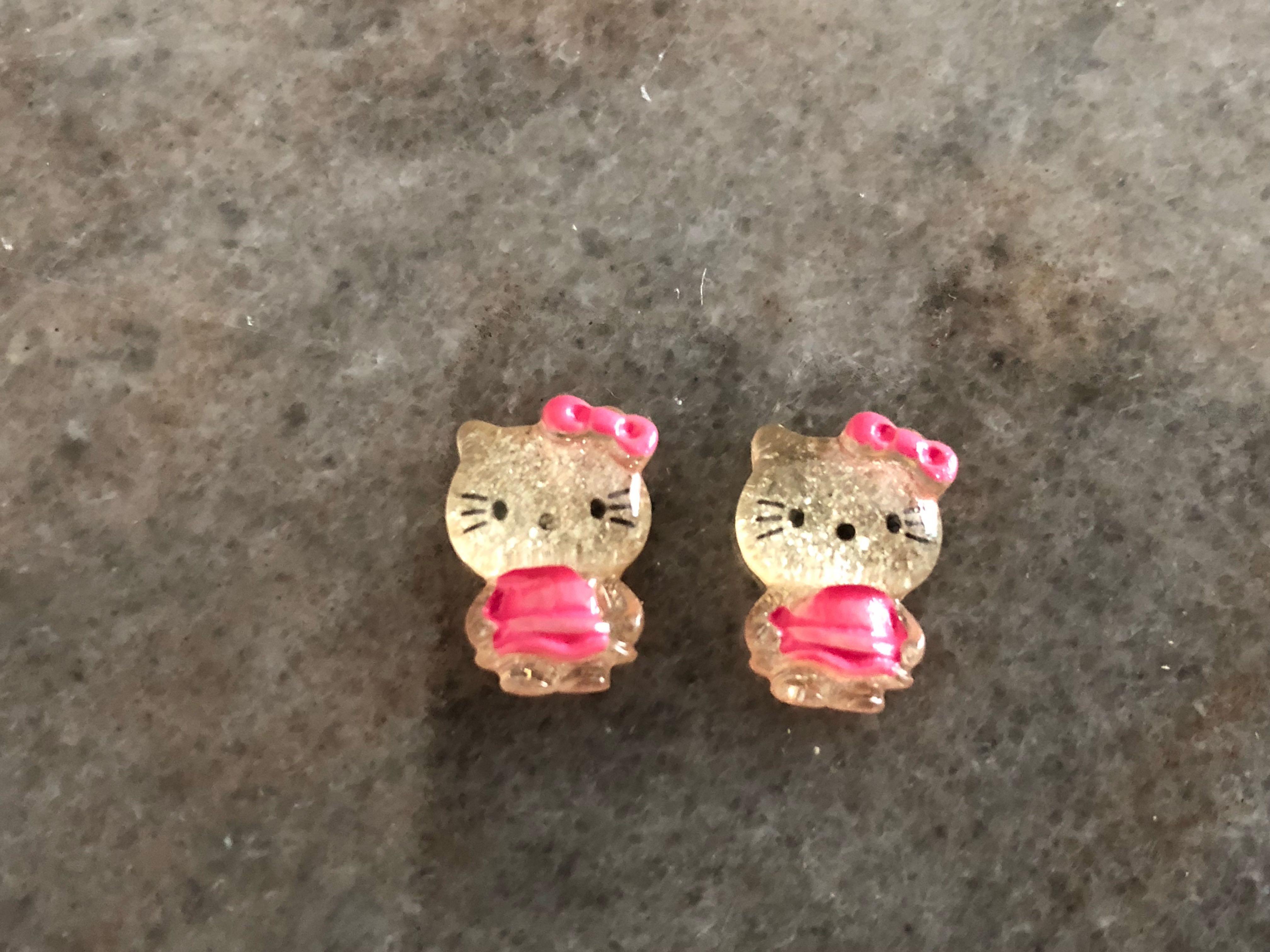 2pcs Hello Kitty Designnail Art Health Beauty Hand Foot Care