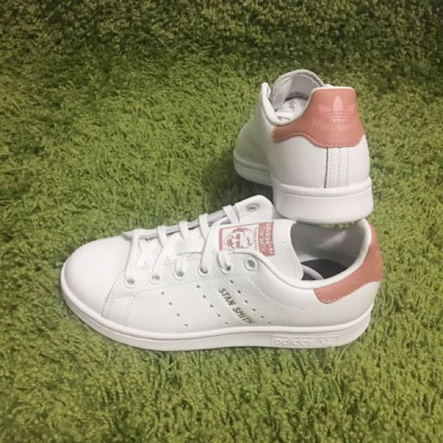various colors 65c83 435e9 ... coupon for adidas stan smith og vintage rose pink cp9811 womens fashion  shoes on carousell 7719c