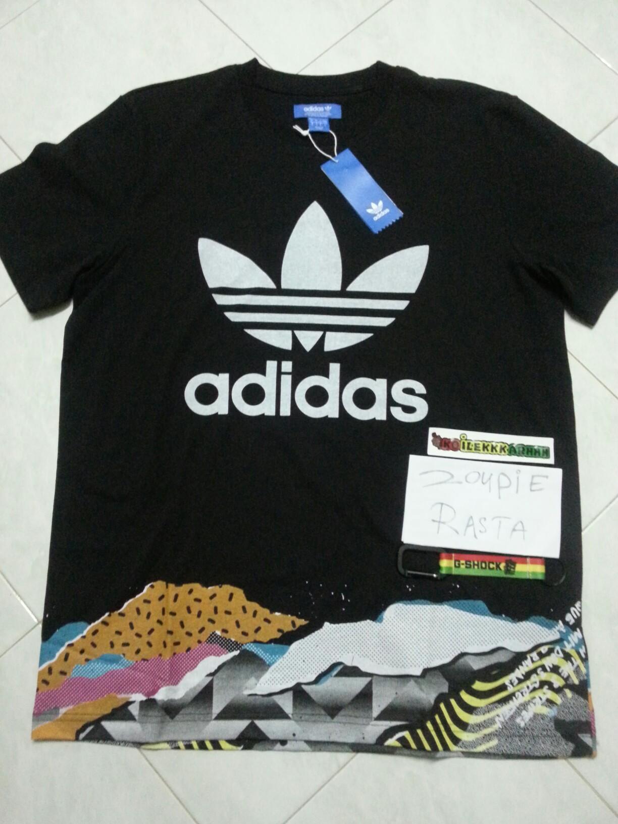 c51e54e80412 Adidas T-shirt, Men's Fashion, Clothes, Tops on Carousell