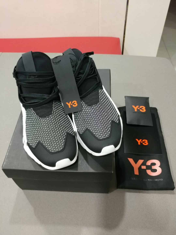 29f2cc1aaca02 Adidas Y-3 Ayero Black White Combo