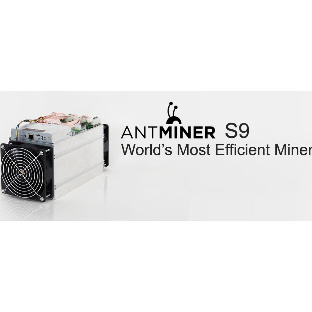 BitCoin Mining Machine Antminer S9i-14TH/s with PSU - Hi Spec Model  (Bitcoin Mining Packages)