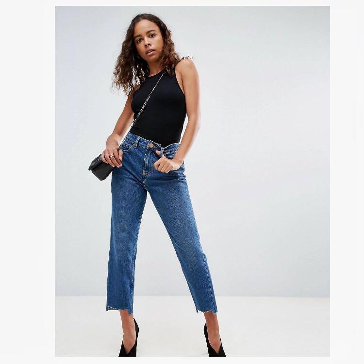 ASOS Petite Original Mom Jeans