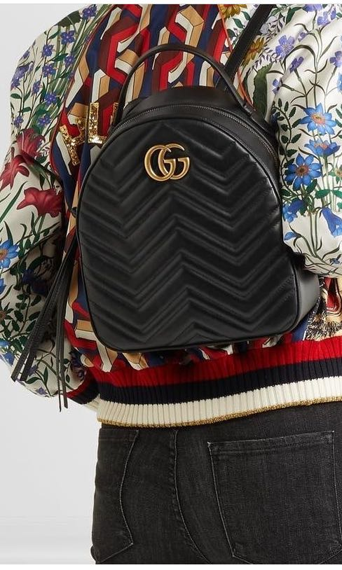 d161abeb27b Auth GUCCI marmont Backpack