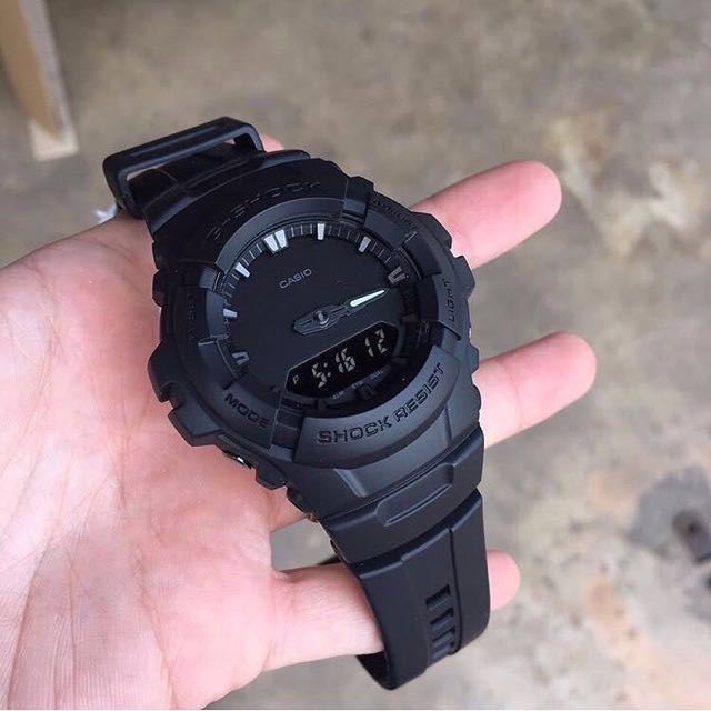 brand stealth matte p black casio gshock watches shock authentic photo mens new men watch g s