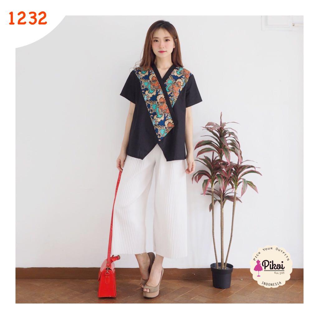 Baju Batik Modern Atasan Wanita Batik Murah Batik Anak Muda
