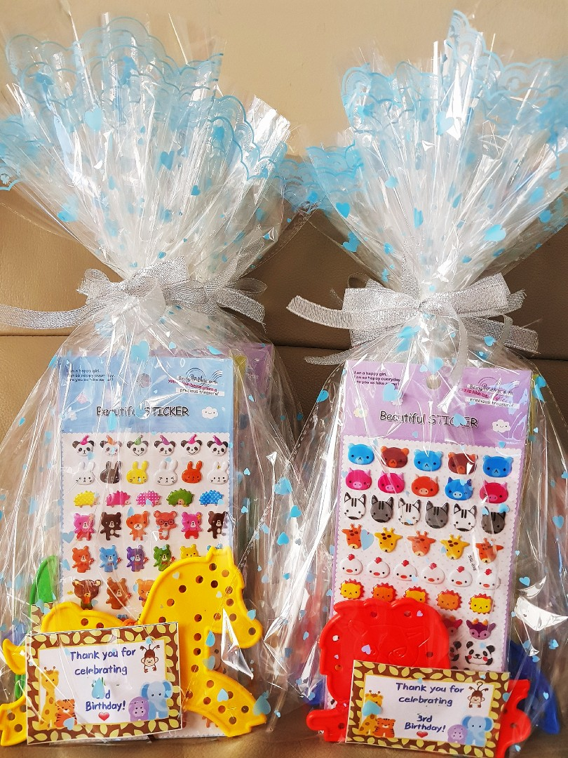 Birthday Goodie Bags Goody Bag Babies Kids Toys Walkers On