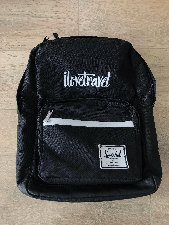 Black Herschel Backpack
