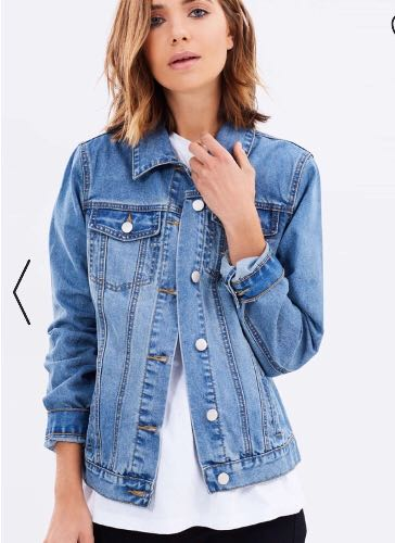 Brand new denim jacket