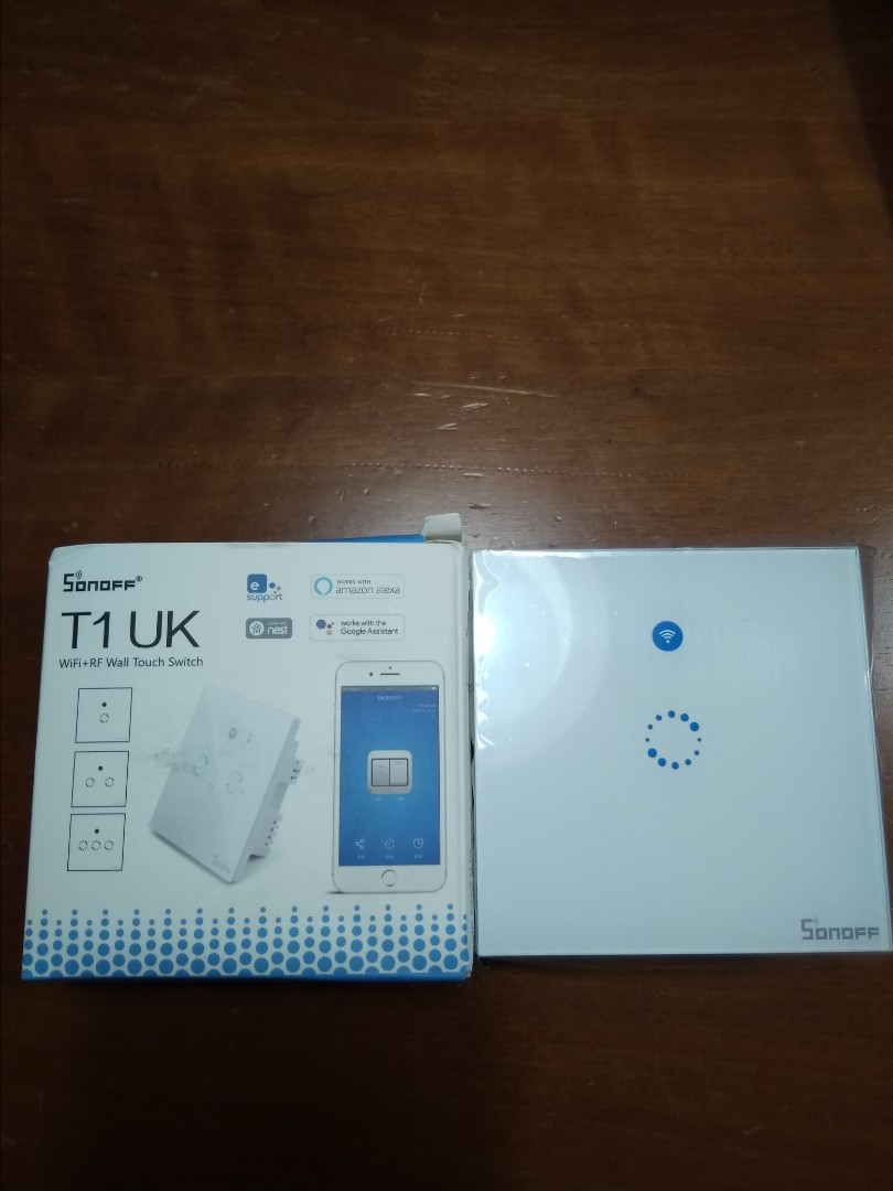 Brand New!! Sonoff T1 UK Home Automation Wifi RF Touch