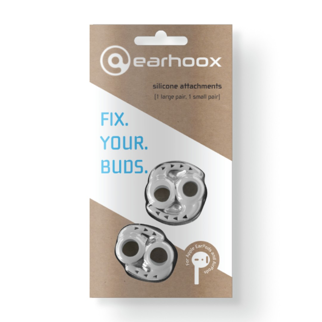 4653c4b45ae Earhoox 2.0 - for Apple EarPods & AirPods - White, Electronics ...