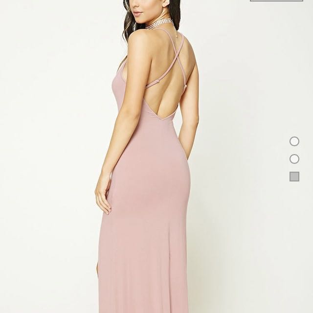 Forever 21 Maxi M slit dress