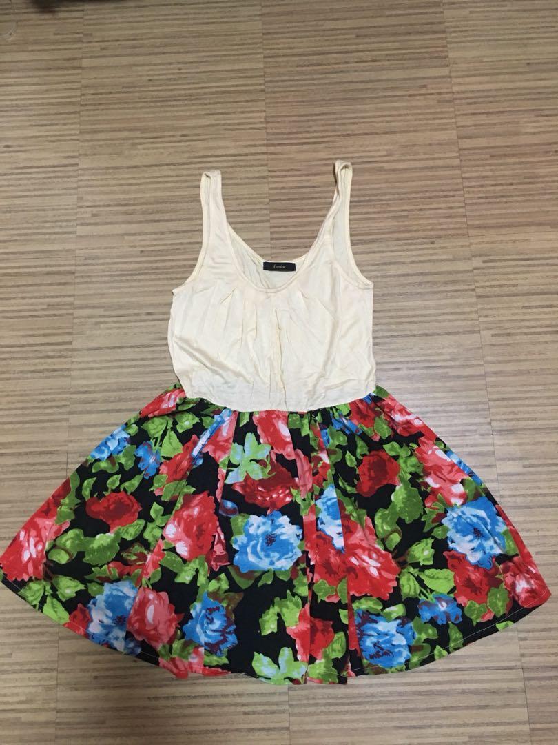 Funshe Floral Dress