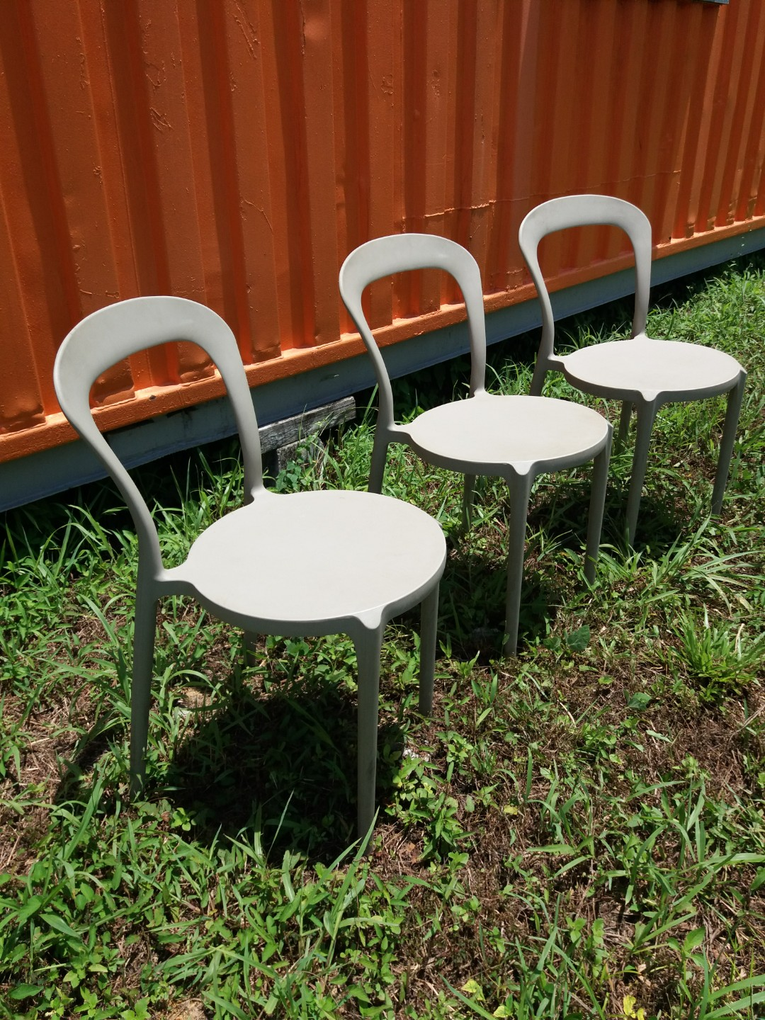 Garden Chairs Second Hand, Home & Furniture, Others on Carousell