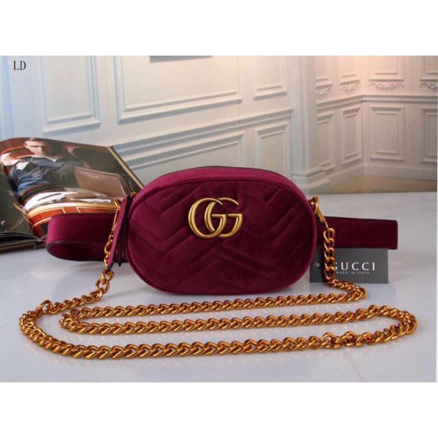 Gucci Belt Bag Velvet *Rep*