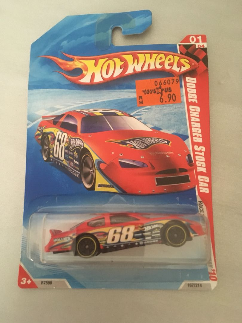 Hotwheels Dodge Charger Stock Car Toys Games Other Toys On Carousell