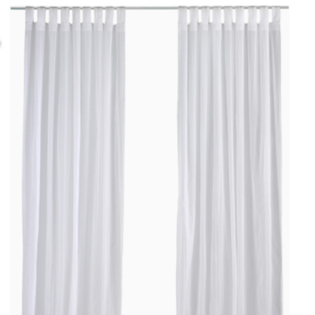 Ikea Botaren Shower Curtain Rod White Furniture Home