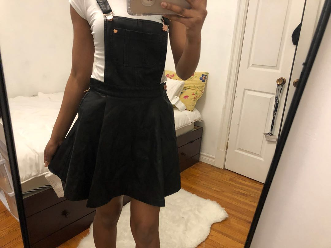 Kendall and Kylie Overalls Skirt