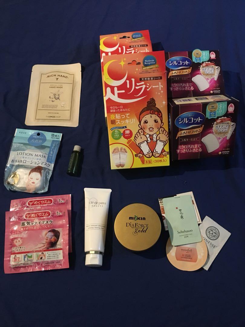 Korean & Japanese Skincare