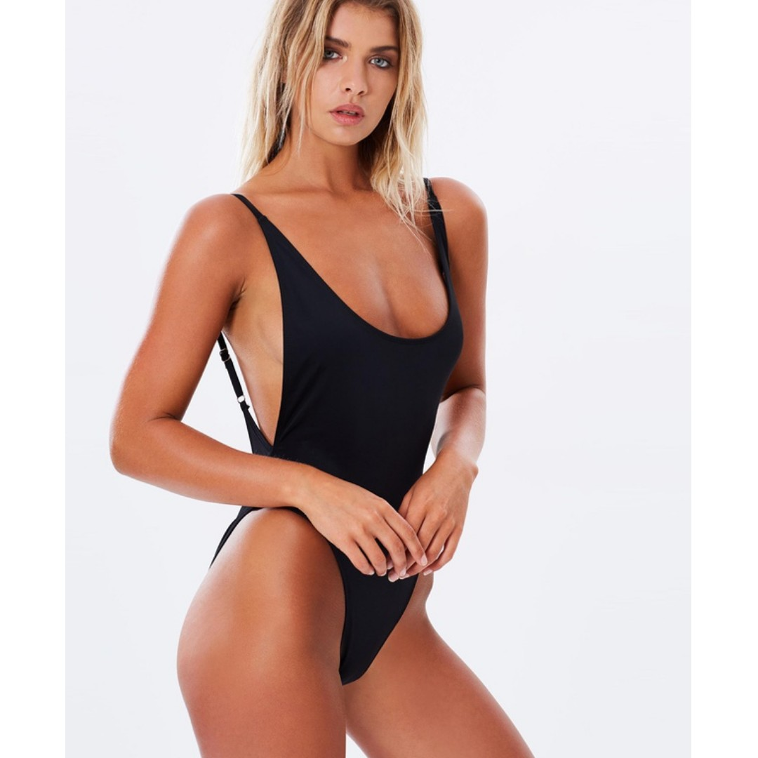 LIONESS black one piece size Small
